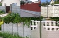 Aspecte inovative legate de conceptul de gard din beton