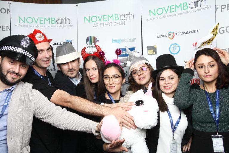 Începe #NOVEMBarh 2019, a III-a ediție a primului hackathon al arhitecților din România