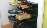 Pantofarul pentru spatii inguste Depozitarea pantofilor poate cu usurinta deveni o problema serioasa mai ales cand