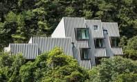 Deep House locuinta adaptata terenului Deep House a fost creata de arhitectii de la poly m