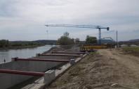 Protecție permanentă a betonului cu Penetron Admix la o hidrocentrală de 2500 mp de pe râul
