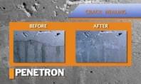 Hidroizolarea si impermeabilizarea permanenta prin cristale Produsele PENETRON sunt formule pe baza de ciment quartz nisip