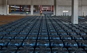 Cofrajele Modulo de la Geoplast au fost utilizate în Italia pentru noul centru logistic al unei cunoscute companii americane de e-commerce