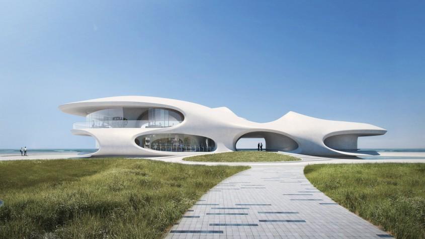 Una dintre cele mai aşteptate clădiri ale anului a fost finalizată