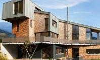 Tamplarie din lemn placat cu aluminiu - solutia ideala pentru case pasive O casa pasiva este