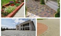 Avantajele pavajului vibropresat Daca ti-e greu sa te decizi intre beton simplu sau amprentat piatra naturala