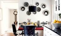 Pereti decorati cu farfurii! Probabil una dintre cele mai simplu de realizat idei DIY decorarea peretilor