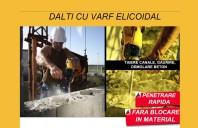 Dalti cu varf elicoidal Diager