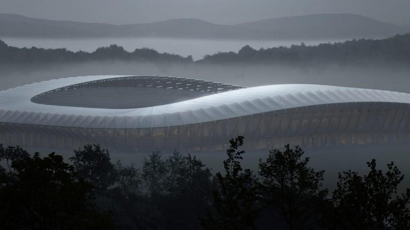 Primul stadion din lume construit din lemn