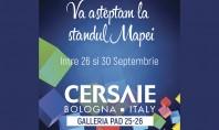 Mapei va asteapta la Cersaie 2016! Va asteptam la #Cersaie pentru a va prezenta adezivi materiale