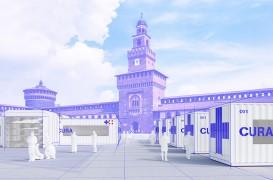 Unităţi de terapie intensivă din containere maritime, proiectate de doi arhitecţi italieni