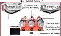 Test demonstrativ Isoflect Pe timp de iarna membranele Isoflect limiteaza pierderile de caldura si asigura o
