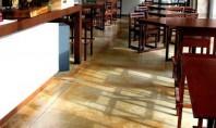 Pardoseli decorative pentru cafenele restaurante terase de vara Pardoseala Micro-Topping pardoseala decorativa din rasina epoxidica pardoseala