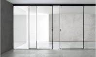 Cum să alegeți ușile glisante din sticlă pe post de sisteme de compartimentare? Înainte de a