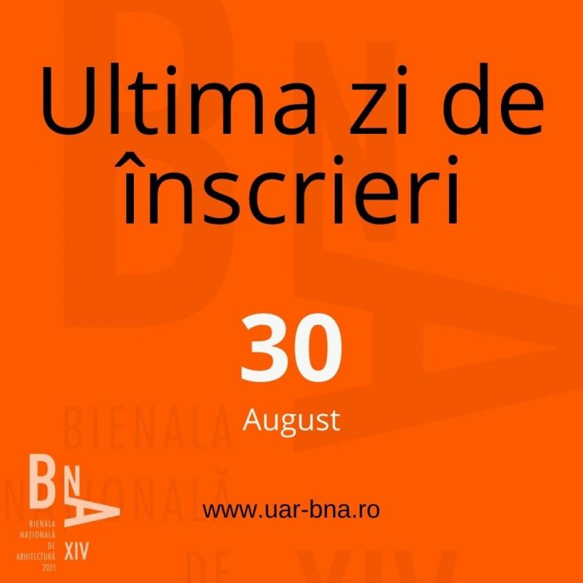 Bienala Națională de Arhitectură 2021: A fost prelungit termenul de predare a proiectelor