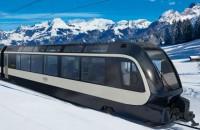 Imaginează-ți cum se văd Alpii din acest tren elvețian proiectat de italienii de la Pininfarina