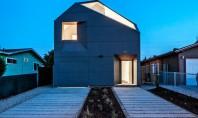 Casa eficienta realizata de studenti pentru un veteran Casa IVRV este o locuinta moderna refacuta cu
