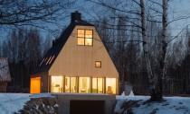 Casa ce profita de inaltime pentru a evita restrictiile locale de urbanism