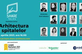 Dezbatere cu specialiști în arhitectura medicală – 8 aprilie 2021, ora 16.00