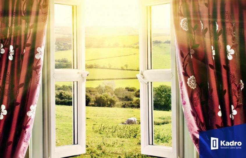 Cum economisim energie cu ferestrele KADRO