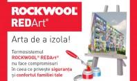In fiecare zi din luna aprilie o casa a fost izolata utilizand termosistemul ROCKWOOL REDArt® ROCKWOOL