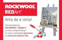 In fiecare zi din luna aprilie o casa a fost izolata utilizand termosistemul ROCKWOOL REDArt®