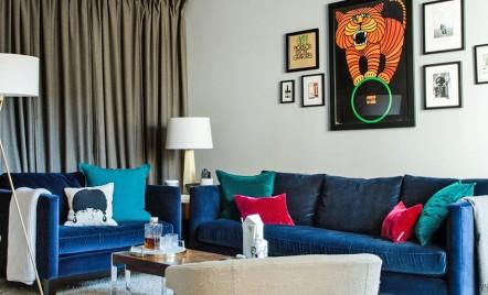 Interioare luxoase si confortabile intr-un apartament din Brooklyn