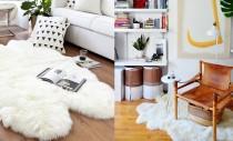 Covorul alb tip piele de oaie: cum îl păstrezi ca nou?