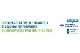 Cele mai moderne produse destinate piscinelor publice si private exclusiviste, prezentate la Bucuresti