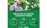 Colectezi reciclezi și Recolamp te premiază Un număr de 800 de premii sunt gata să ajungă