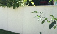 O schimbare peste noapte Va prezentam o solutie pentru renovarea unui gard din beton de 160