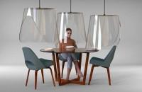 O idee elegantă pentru a lua masa în siguranţă la restaurant