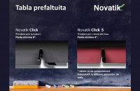 Un nou produs in portofoliul Final Distribution - tabla prefaltuita Novatik Click