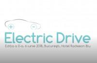 A II-a ediție a evenimentului ELECTRIC DRIVE are loc pe 6 iunie la Hotel Radisson Blu