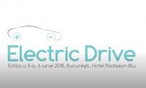 A II-a ediție a evenimentului ELECTRIC DRIVE are loc pe 6 iunie la Hotel Radisson Blu din București