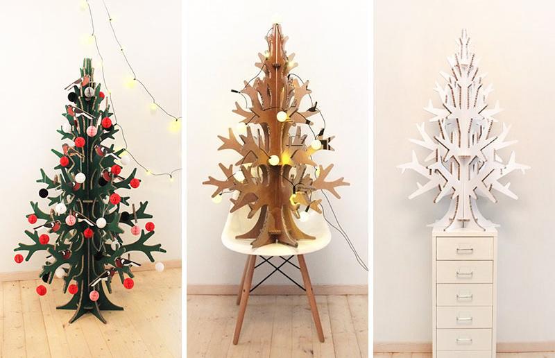 Pom de Crăciun neconvențional pentru interioare contemporane