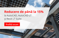 Flash Promo: până la 15% reducere la AutoCAD, AutoCAD LT și Revit LT Suite!