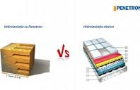 De ce alegem Penetron în locul hidroizolației clasice?
