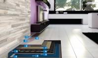 Sistem Eco pentru realizarea pardoselilor încălzite și acoperite cu plăci ceramice Pentru realizarea pardoselilor ceramice încălzite