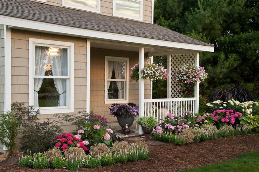 Înfrumusețează-ți intrarea în casă cu ajutorul plantelor - 12 sugestii