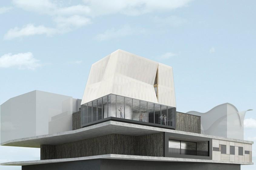 O casă futuristă ce va fi construită de roboți