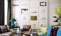 O mini galerie de arta impodobeste orice perete Inspirandu-ne din modul in care custozii isi expun