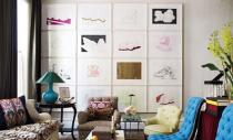 O mini galerie de arta impodobeste orice perete