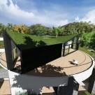 O casă uimitoare ce își schimbă priveliștea doar prin apăsarea unui buton