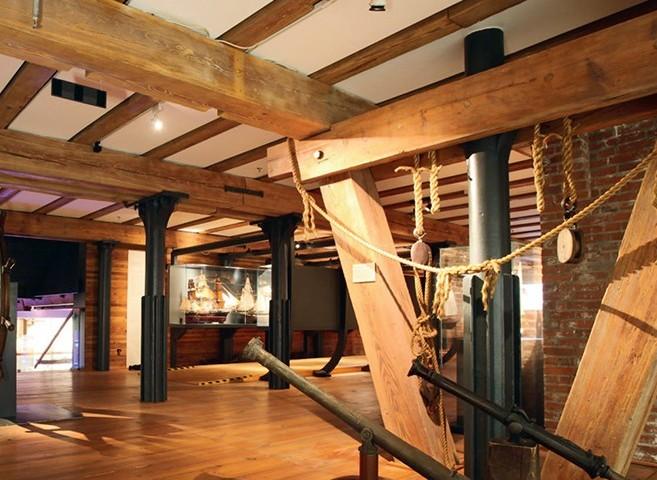 Muzeul Maritim International din Hamburg