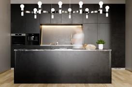 Exemple spectaculoase de iluminat pentru bucătărie