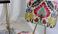 Cum sa adaugati culoare si personalitate unui scaun Daca v-ati plictisit de vechile scaune din lemn