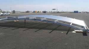 Proiect Punct de Trecere a Frontierei Nadlac - structuri metalice, containere si constructii modulare