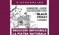 Reduceri de pana la 80% la 20 000 mp de piatra naturala Vineri 18 noiembrie de