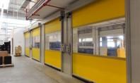 Usi rapide din PVC cu deschidere pe verticala Gunther Tore Romania acopera prin gama de usi
